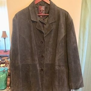 5adc9e444df sears Jackets   Coats - PLUS SIZE SEARS SUEDE BROWN ESPRESSO JACKET